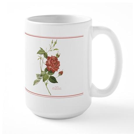 Tea Rose (2) Large Mug