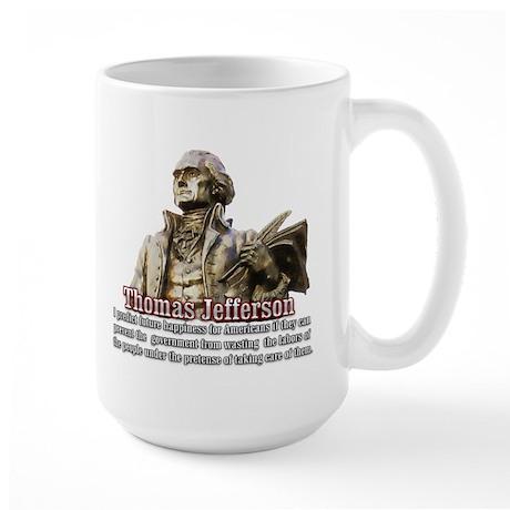 Thomas Jefferson founding father Large Mug