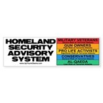 Homeland Insults Bumper Sticker (50 pk)