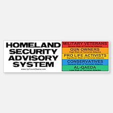 Homeland Insults Bumper Bumper Bumper Sticker