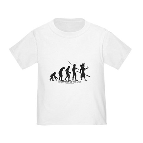 Evolution of the Lich Toddler T-Shirt
