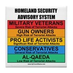 Homeland Insults Tile Coaster