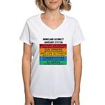 Homeland Insults Women's V-Neck T-Shirt