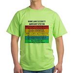 Homeland Insults Green T-Shirt