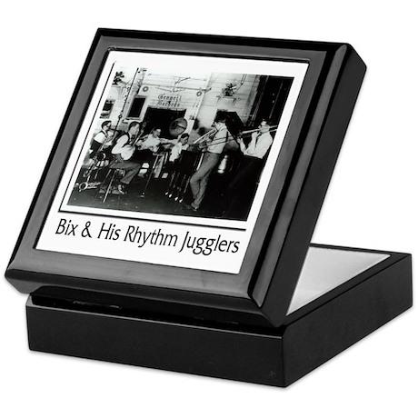 Bix Beiderbecke and Rhythm Jugglers Keepsake Box