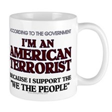 American Terrorist We The Peo Mug