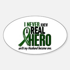 REAL HERO 2 Husband LiC Oval Decal