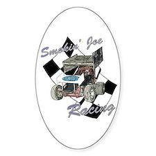 96 Smokin' Joe Racing Oval Sticker (10 pk)
