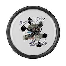 96 Smokin' Joe Racing Large Wall Clock