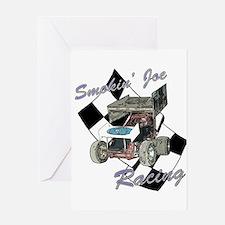 96 Smokin' Joe Racing Greeting Card