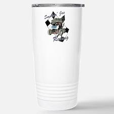 96 Smokin' Joe Racing Stainless Steel Travel Mug