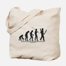 Evolution of the Zombie Hunter Tote Bag