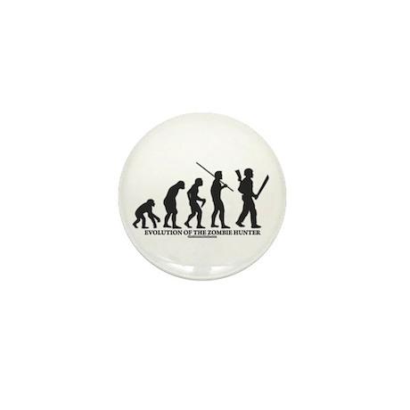 Evolution of the Zombie Hunter Mini Button (100 pa
