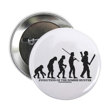 "Evolution of the Zombie Hunter 2.25"" Button (100 p"