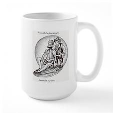 Don Quixote and Sancho Mug