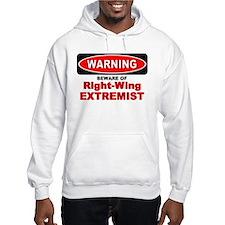 Beware Extremist Hoodie