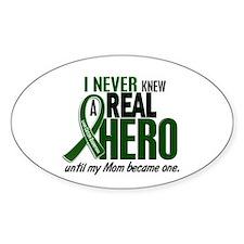 REAL HERO 2 Mom LiC Oval Sticker (10 pk)
