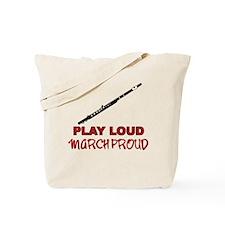 Flute Play Loud Tote Bag