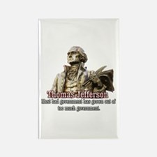 Thomas Jefferson founding father Rectangle Magnet