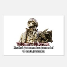 Thomas Jefferson founding father Postcards (Packag