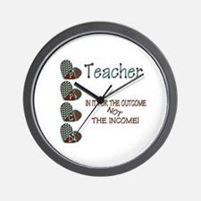 Funny Special needs teachers Wall Clock