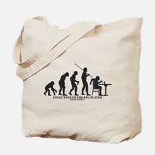 Evolution of the RPG Player Tote Bag