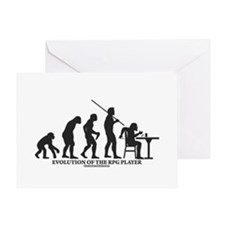 Evolution of the RPG Player Greeting Card