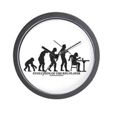Evolution of the RPG Player Wall Clock