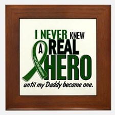 REAL HERO 2 Daddy LiC Framed Tile