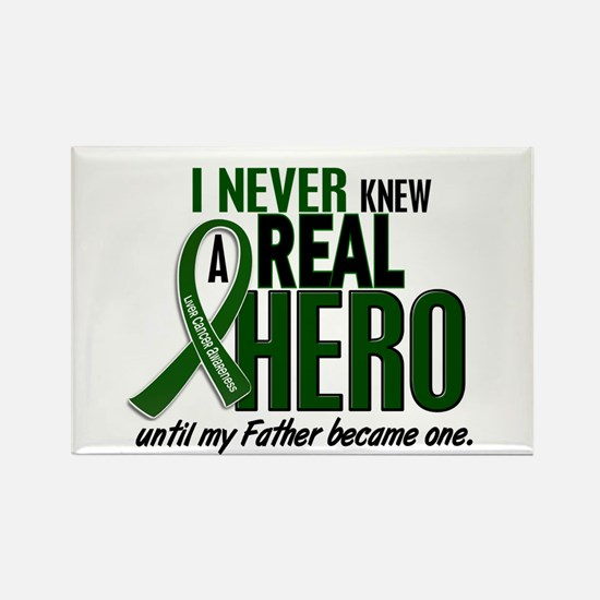 REAL HERO 2 Father LiC Rectangle Magnet