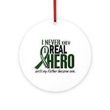 REAL HERO 2 Father LiC Ornament (Round)