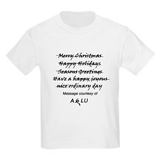 Outlaw Christmas Kids T-Shirt