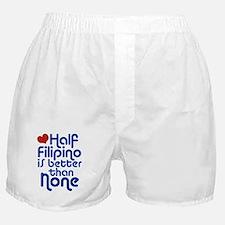 Half Filipino Boxer Shorts
