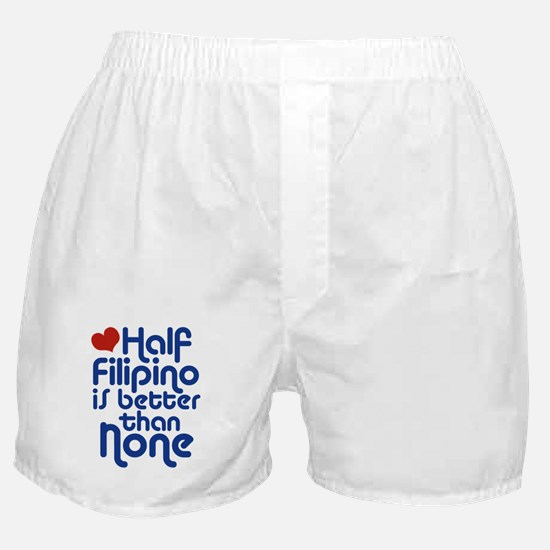 Half Filipino Boxer Shorts