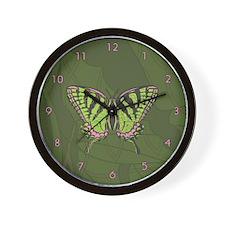 Celtic Swallowtail Wall Clock