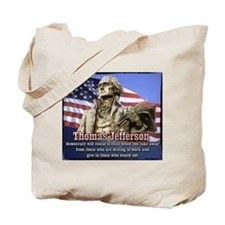 Thomas Jefferson quotes Tote Bag