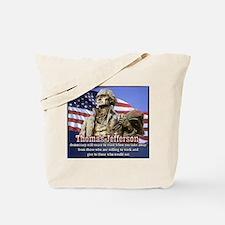 Thomas Jefferson quotes Tote Bag
