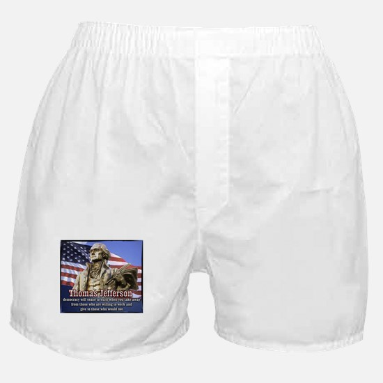 Thomas Jefferson quotes Boxer Shorts