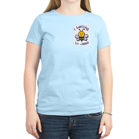 I Bee'long to Jesus (1) Women's Pink T-Shirt