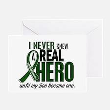 REAL HERO 2 Son LiC Greeting Card