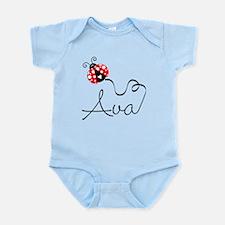 Ladybug Ava Infant Bodysuit