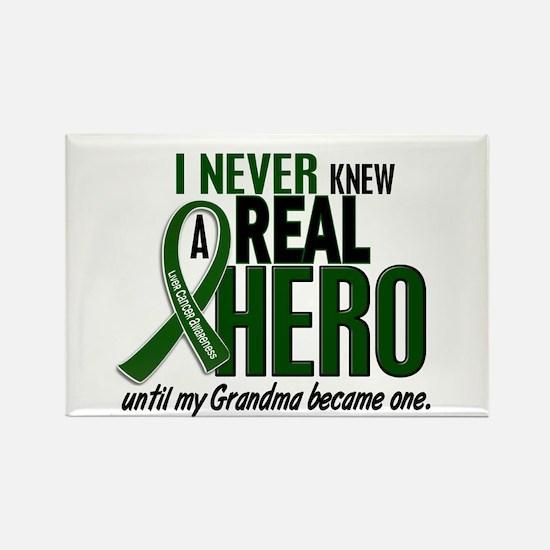 REAL HERO 2 Grandma LiC Rectangle Magnet