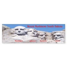 Mount Rushmore Bumper Bumper Sticker