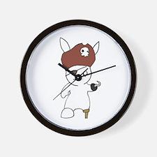 Cool Bunny day Wall Clock