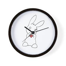 Unique Bunny Wall Clock