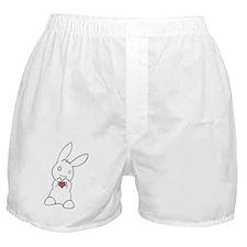 Cute Bunny Boxer Shorts
