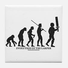 Evolution of the LARPer Tile Coaster