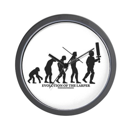 Evolution of the LARPer Wall Clock