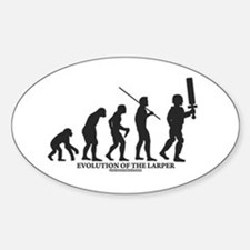 Evolution of the LARPer Oval Decal