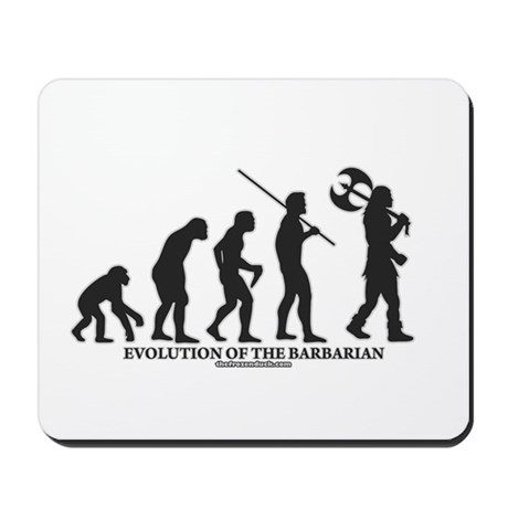 Evolution of the Barbarian Mousepad